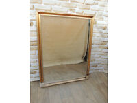 Overmantle Mirror Antique Gold Large size (Delivery)