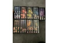 Buffy the vampire slayer/Angel boxsets VHS