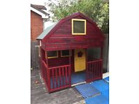 Kids Wooden PlayHouse Wendy House
