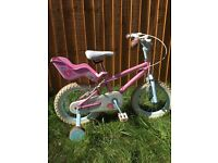 Girls Bike 3-5 years
