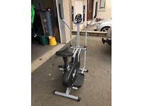 We R Sports 2-in-1 Elliptical CrossTrainer / Exercise Bike