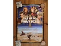 Collectible Official Star War Episode 1 Movie Poster