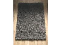 Nice & fluffy chocolate colour thick area rug.