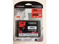 """KINGSTON 480GB SSD 300 V 2.5"""" sata REV 3.0 (6GB/s) (HARDDRIVE FOR LAPTOP OR PC)"""