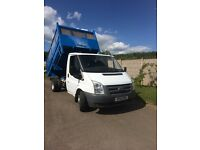 Ford transit tipper 10reg 100ps