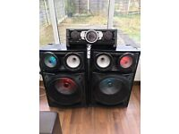 samsung giga boombox audio system