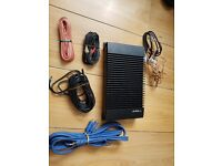 Alpine 3523 4 car amplifier all the kit wires with it picture to see