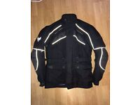 Frank Thomas motorcycle jacket, trousers, gloves and boots