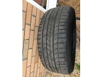 Two good year tyres 275/45r /20