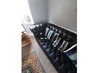 Chesterfield sofa chair