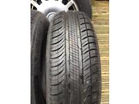 2x Brand new Michelin Tyres 165/70/14