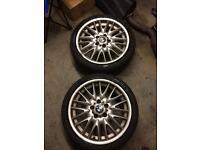 "Bmw 18"" msport mv1 alloy wheels"