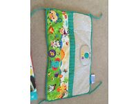 Fisher Price crib rail soother
