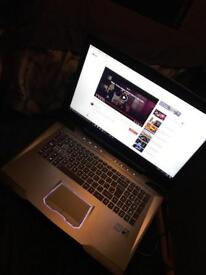 Costume made gaming laptop by Cyberpower's
