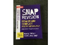 SNAP revision Power and Conflict Poetry Anthology