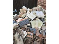 Loose rubble, free to a good home. 😀