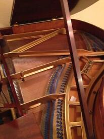 1934 Bluthner baby grand piano