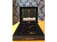 Mont Blanc Fountain pen and CD set