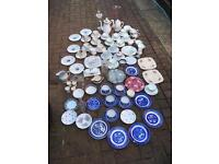 Huge lot of vintage China and glass ware