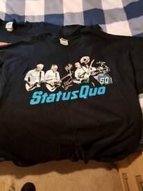 Status quo concert shirts