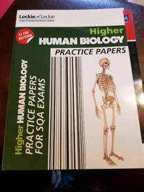 National 5 and Higher study books