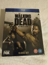 The Walking Dead Seasons 1-4 [Blu Ray] - *New & Sealed* £11
