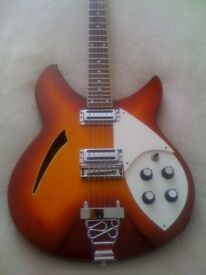Immaculate Indie IRK 500 Electric Guitar for sale (Great Beatles Style Guitar)
