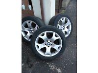 "BMW x5 Alloy Wheel 19"" 4 Pieces"