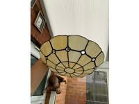 Tiffany ceiling light shade £8