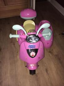 Peppa Pig 6V motorbike ride on