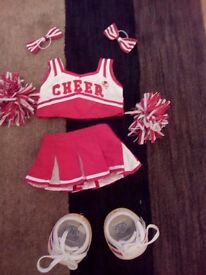 Buildbear cheerleader outfit.