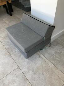 Single fold out chair z bed
