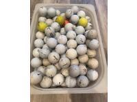 More than 100 good quality Golf Balls