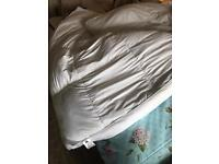 Goose down thick double bed mattress topper