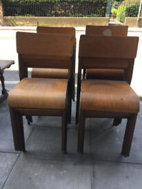 Vintage Bamco Child's stacking chair .... £10 each .... Free local delivery. (11 chairs available)