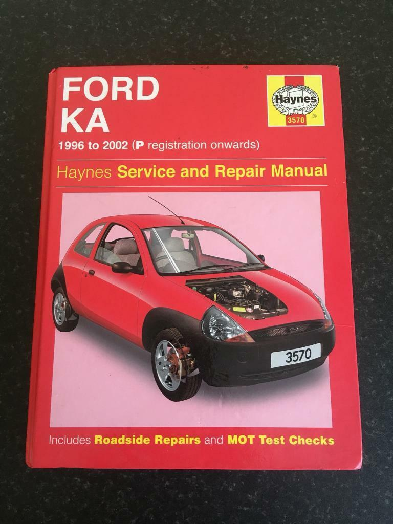 Ford KA Haynes Manual 1996 to 2002