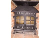 Hunter Herald 8 Multifuel Woodburner