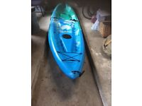 Sit on top kayak- 2/3 person Ocean Malibu XL. With clip in seats and paddles