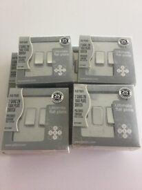 Polished chrome sockets & light switches