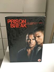 Prison Break Series 1-4 Complete (DVD, 2009, Box-set)