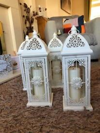 IvoryCandle lantern holders