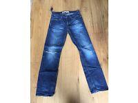 7 pairs of teenage boys Jeans