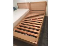 2 SOLID SINGLE BEDS