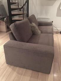 REDUCED. Contemporary IKEA 3 Seater KIVIK sofa