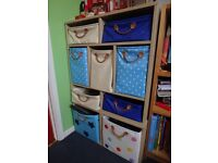 Great, high quality, adjustable children's storage unit, perfect for nursery or children's bedroom
