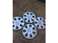 Vauxhall corsa genuine wheel trims 15 inch