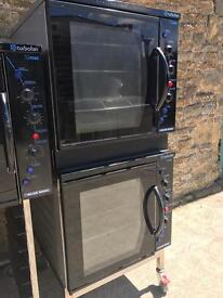 Stack double blue seal E32 electric ovens