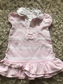 Baby girls short sleeve dress