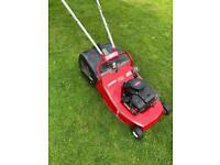 "Mountfield Heavy duty petrol roller lawnmower alloy deck 18""cut Briggs engine mower serviced sharpen"