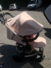 My Babiie rose gold stroller NEARLY NEW****